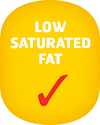 Low saturated fat