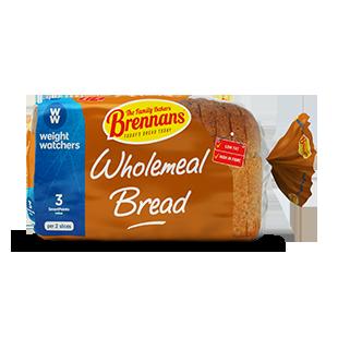 Brennans Weight Watchers Wholemeal Bread Brennans Bread