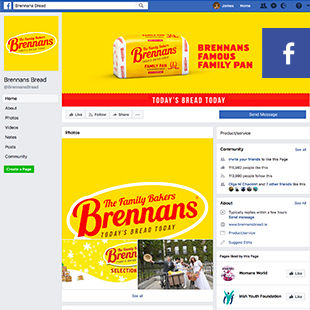 Brennans on facebook