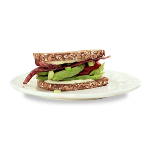 Bacon, Lettuce & Tomato with Wholewheat