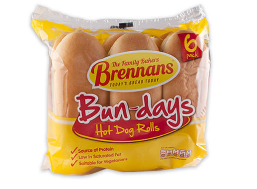 Brennans Bun-Days Hot Dog Rolls