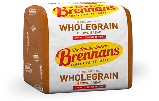 Brennans Half Pan Wholegrain