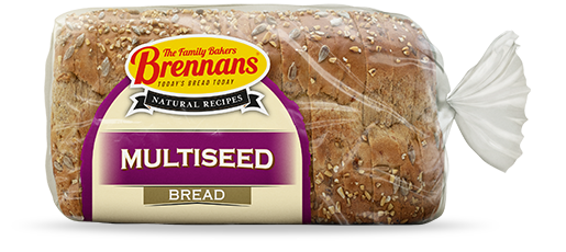 Brennans Natural Recipes Multiseed Bread