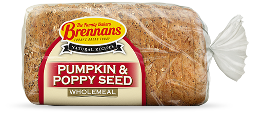 Brennans Natural Recipes Pumpkin & Poppy Seeds